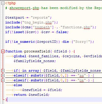 PHP syntax highlighting