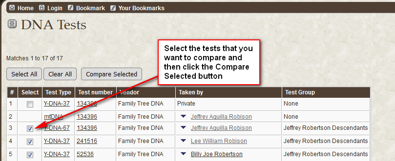 Add dna select tests-to-compare.png